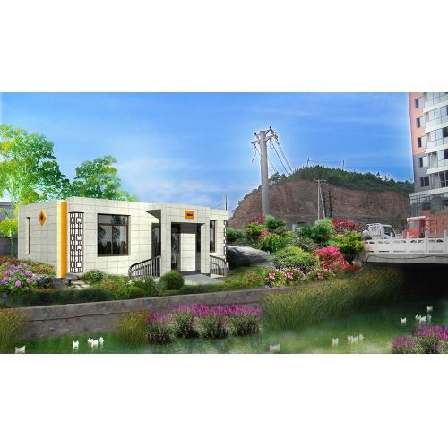 6个公厕全套方案,含3D完整模型,公厕设计案例,公厕设计全套资料