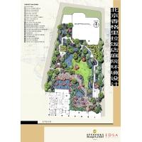 3个会所庭院园林设计方案,会所度假村园林设计案例