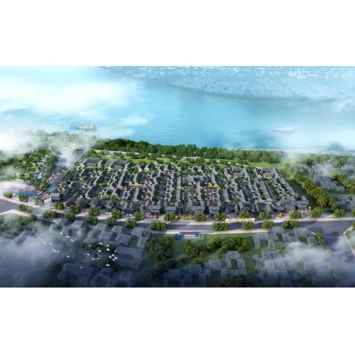 泸州中天文旅城传统京式四合院、传统中式合院、新中式商业街