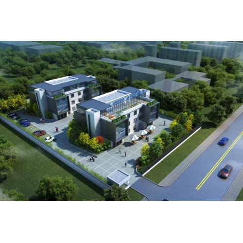 廊坊银行创新工场(建筑方案及内装方案-全专业施工图)、小型公建改造