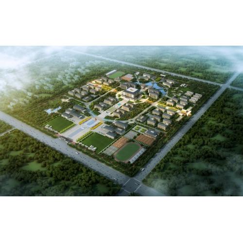 兵团警官高等专科学校(投标)、汉唐风格大学、中式风格大学