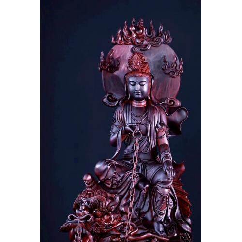 大师级精工木雕佛像100例,每个雕像多角度清晰视图,精品案例,木雕案例精选