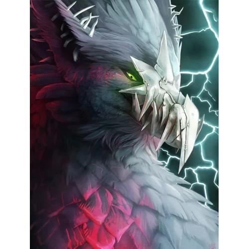 怪物插画设计一组,精致帅气,优秀插画案例