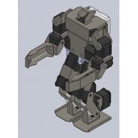 自制机器人机械设计图纸资料案例、类人机器人工业设计全套资料案例、人工智能设计方案、机器人方案