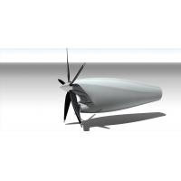 涡喷涡轮喷气涡轴涡轮轴发动机机械设计图纸资料、3D模型三维建模、机械设计案例