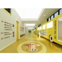 02幼儿园空间设计-走廊、卫生间、休息室设计模型案例,幼儿园设计案例、工装设计案例、装饰设计案例