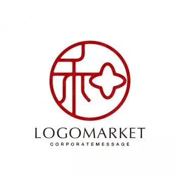 中国风-印章式logo案例,logo设计案例