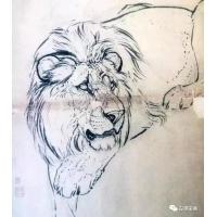 刘奎龄洋为中用的绘画理念,国画依旧,60副动物插画案例,老年艺术案例